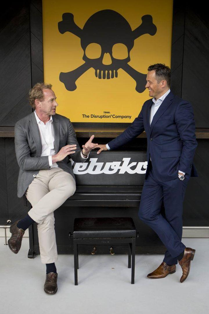 Ceo Simon Neefjes en managing director Rik Ledder over 'the disruption company' in een veranderende reclamewereld.